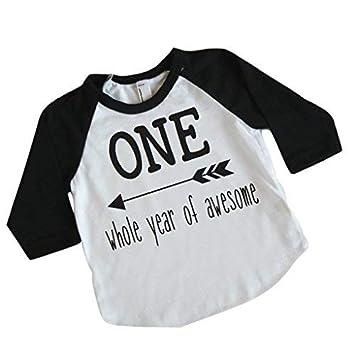 3ebdcc061e88 Amazon.com  Boy First Birthday Shirt