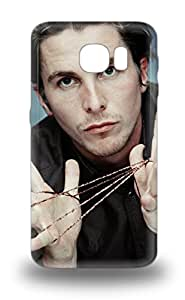 Best High Quality Christian Bale The United Kingdom Male Christian Charles Philip Bale The Flowers Of War Skin Case Cover Specially Designed For Galaxy S6 5335485M90965011