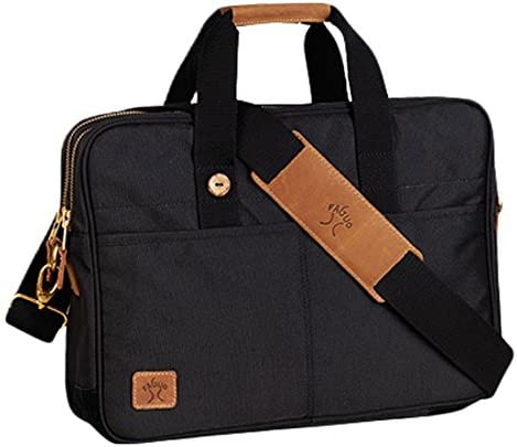 FAGUO - Laptop Bags - Men - Black Fratelli Laptop Nylon Bag for men