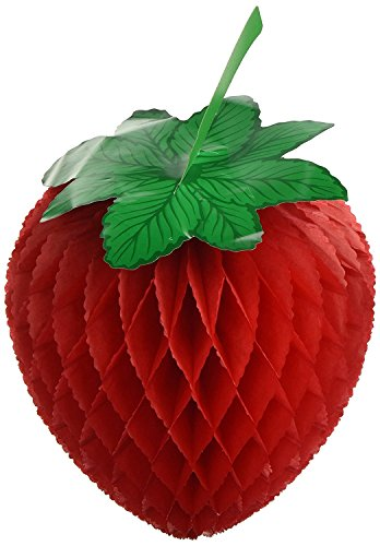 Tissue Strawberry Party Accessory (2-Pack) by Beistle