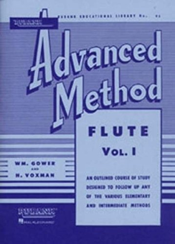 Rubank Advanced Method: Flute, Vol. 1 (Rubank Educational Library, No. 95) ()