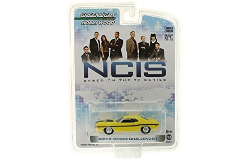 Greenlight Collectibles - NCIS Diecast Model 1/64 1970 Dodge Challenger