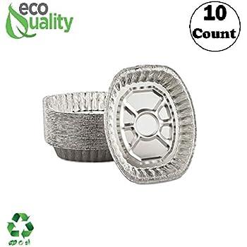 Amazon Com Durable Foil Oval Aluminum Roasting Pan X