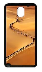 Galaxy Note 3 Case, Note 3 Cases - Camel Train Soft Rubber Bumper Case for Samsung Galaxy Note 3 N9000 TPU Black
