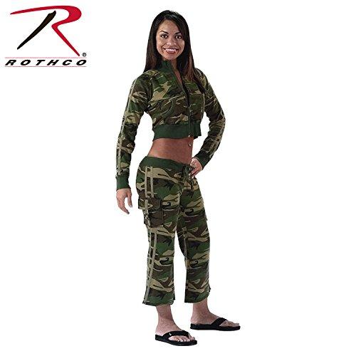 Rothco Women's Woodland Zip-Up Sweatshirt, X-Large