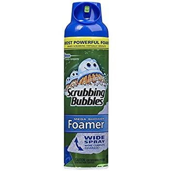 Superb Scrubbing Bubbles Mega Shower Foamer Aerosol, 20 Ounce
