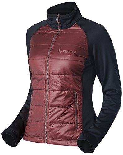 elegir la mujer chaqueta Candy Varios colores Bordo/Black Talla:extra-large Varios colores - Bordo/Black
