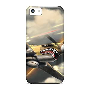 Wade-cases Case For Iphone 5/5S CoverRetailer Packaging Airplanes Fight Protective Case