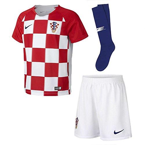 NIKE 2018-2019 Croatia Home Mini (Nike Youth Football Kits)