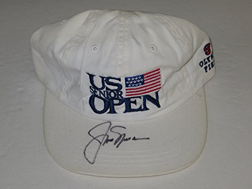 JACK NICKLAUS Signed Senior U.S. OPEN Olympia Fields HAT 2015 ()