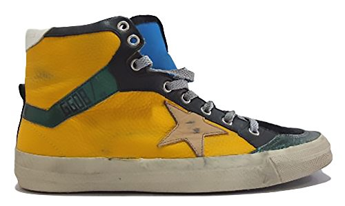 Golden Goose Damen Sneaker Nero E Gialla