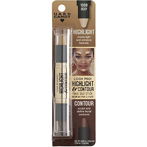 Hard Candy Look Pro Highlight & Contour Face Duo Stick 1098 Deep