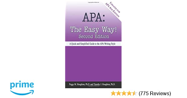 Amazon Com Apa The Easy Way Updated For The Apa 6th Edition