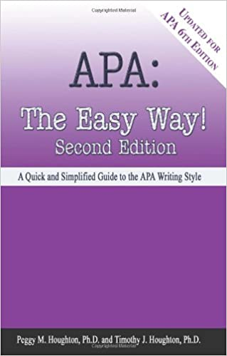 amazon com apa the easy way updated for apa 6th edition