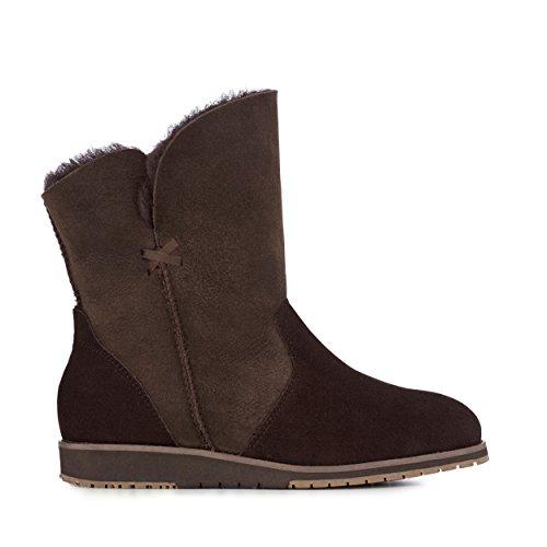 EMU Australia Womens Bells Beach Lo Winter Real Sheepskin Boots