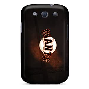 Samsung Galaxy S3 Ixu30317NepI Custom Realistic San Francisco Giants Pattern Protector Hard Phone Cover -CharlesPoirier