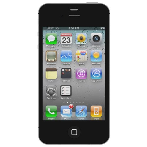 apple iphone 4s 16gb unlocked black certified. Black Bedroom Furniture Sets. Home Design Ideas