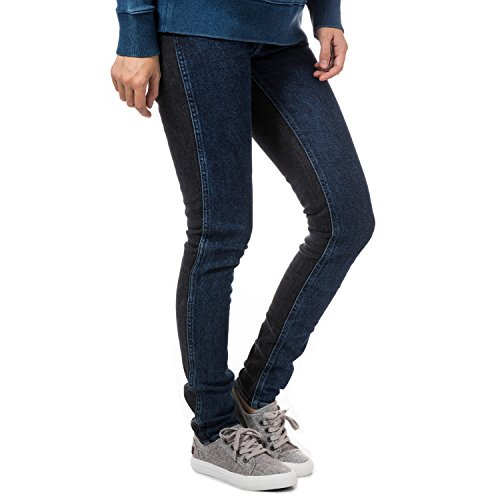 Levi's Womens Line 8 Mid Skinny Jeans in Indigo Night