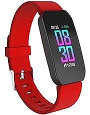 iTouch Active Smartwatch Fitness Tracker, ritmo cardíaco, contador de pasos, monitor de sueño, notificaciones, resistente al agua para hombres y mujeres, compatible con iPhone y Android