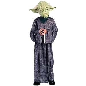 Child Deluxe Yoda Costume -Small (4-6)