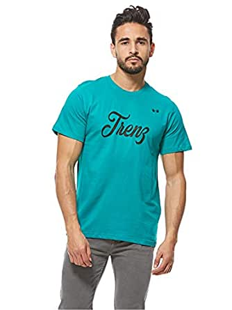 Trenz T-Shirts For Men, Mint Green L