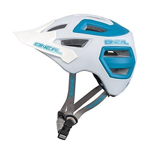 O 'Neal Casco de ciclismo O' Neal Pike Enduro L/XL), color blanco/azul