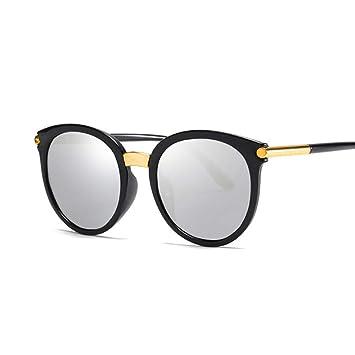 Kjwsbb Gafas de Sol de Ojo de Gato Lente de Espejo de ...