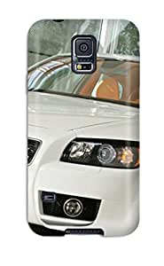 Galaxy S5 Case Cover - Slim Fit Tpu Protector Shock Absorbent Case (2007 Volvo C30 Heico Concept)