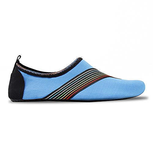 for Womens Exercise Mens Swim Barefoot and Socks Aqua Dry Shoes Quick Water blue Beach Yoga Sd Kids Surf vrvZq