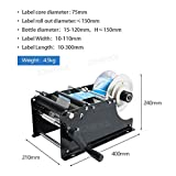 ZONEPACK Manual Round Labeling Machine with