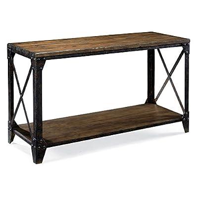 Magnussen T1755 Pinebrook Wood Rectangular Console Table