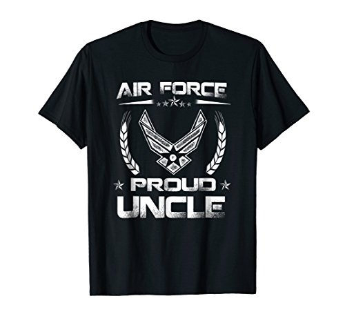Air Force Family - Proud Uncle U.S. Air Force Stars T-shirt ()