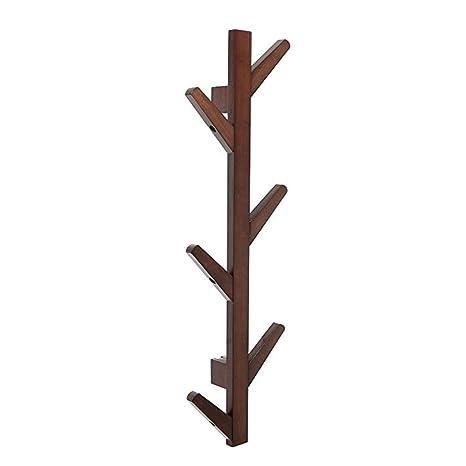 Amazon.com: Perchero de pared con forma de árbol, ganchos de ...