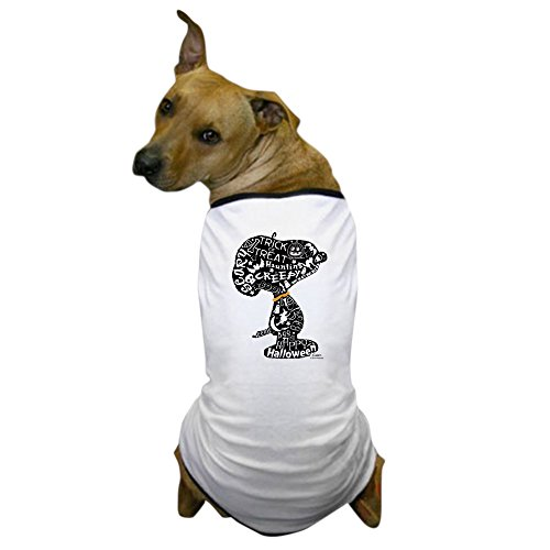 CafePress - Halloween Snoopy Collage - Dog T-Shirt, Pet Clothing, Funny Dog Costume -