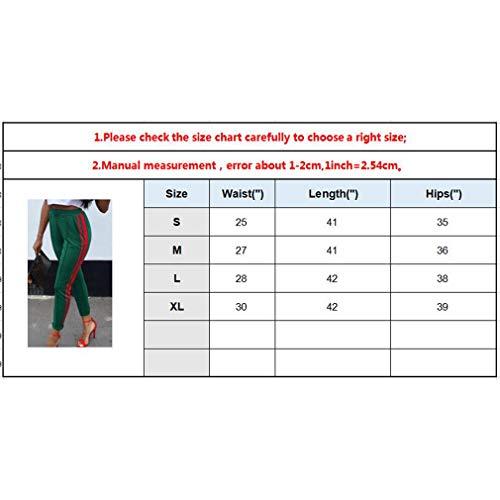 Denim Leggings Skinny Mujer Fit Retro Casual Pantalones Straight Media Pantalón Verde Estrechos Vaqueros Jeans Cintura Moda Lápiz Mezclilla Pies 6wRxz1BBq