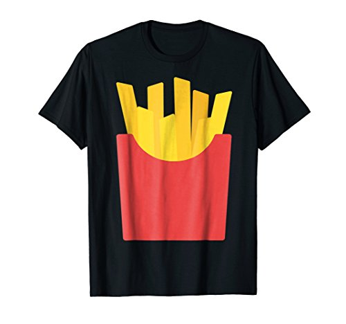 French Fries Halloween Costume T-Shirt for Adult & Kids -