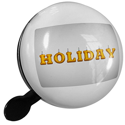 Small Bike Bell Holiday Christmas Ornament - NEONBLOND (Holiday Bicycle Ornament)