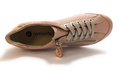 Semelle Femme Baskets Amovible Mode Remonte Rose R3435 Oui Ig7wzxO