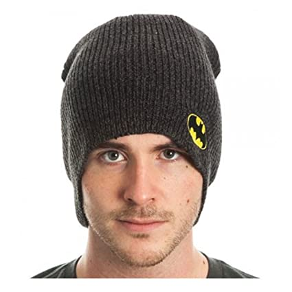 Buy Batman Marled Beanie Hat Online at Low Prices in India - Amazon.in 25287e31c29