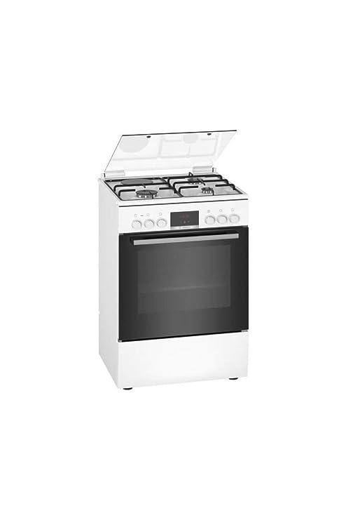 Bosch HXR39IG20 - Cocina (Cocina independiente, Negro, Blanco ...