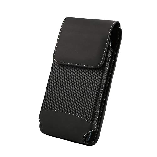 6.9 Inch Mobile Vertical Holster Belt Case for for Huawei Mate 20X, Rugged Holster Pouch Bag for Samsung S10 Lite, Note…