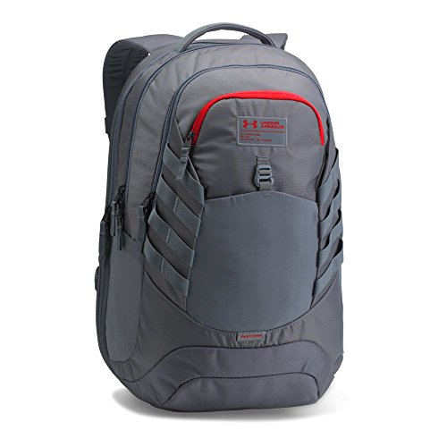 Under Armour Hudson Backpack, Rhino Gray/Steel, One Size