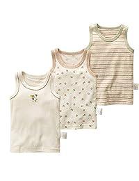 Boys Cotton Colorful Vest T-Shirts, Boys Sleeveless Summer Children Boy Vests Clothes Kids Tanks 3Pcs,A,6T
