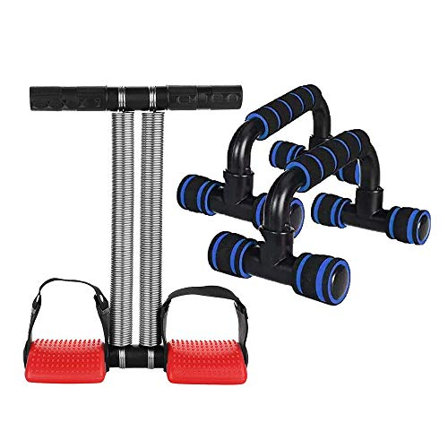 Besties Double Spring Tummy Trimmer and Push Up Bars Stand with Foam Grip Handle for Chest Press, Home Gym Fitness Exercise, Strength Training for Men and Women,Combo Price & Reviews