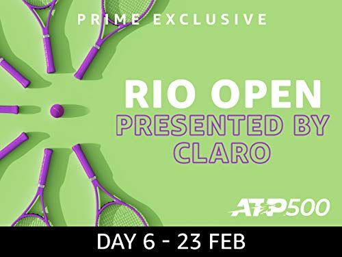 2019 Rio Open presented by Claro, ATP 500 - Day 6 on Amazon Prime Video UK