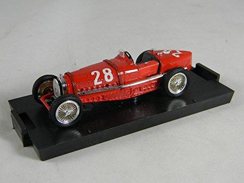 BRUMM Bugatti Type 59 GP Monaco 1 43 Nuvolari 90Th Anniversary BMS99 32