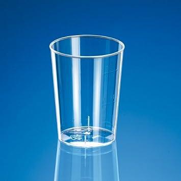 Schnapsglas Plastik 20-30 Ml Ø 4 -2X4 -2 Cm Transparent Ps-Glas Units-Pack: 2000