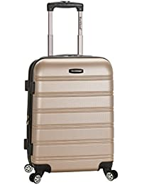 Luggage Melbourne 20 Inch Expandable Carry On, Champagne, One Size