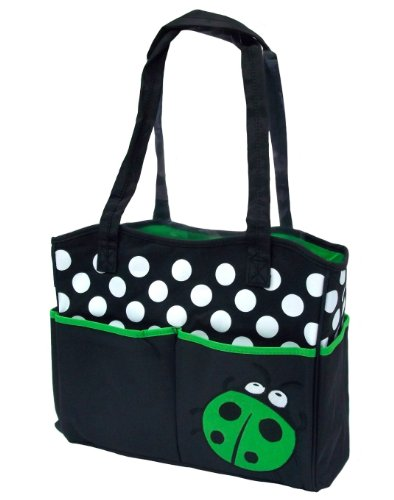 - Tonwhar Mummy Bags Cute Ladybug Diaper Tote Handbag (Green)