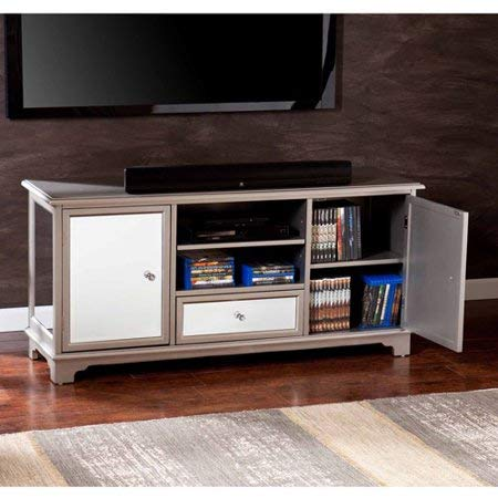 Showcasing Elegance And Function Easy Assembly Care And Store Durable, Reliable And Sturdy Illusions TV/Media Stand for TVs up to 50
